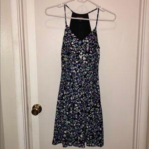 Floral Mini Dress, Express